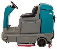 t12 compact battery powered ride on scrubber tennant company
