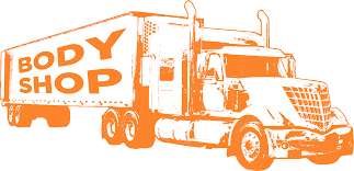 100 Orange Truck Shop Body Packer City UP International S