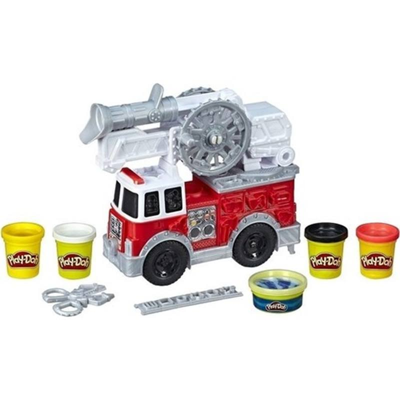 Hasbro Play Doh Wheels Fire Truck Playset