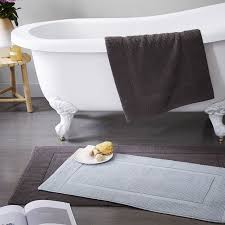 Modern Bathroom Rugs And Towels by West Elm Bath Rug Roselawnlutheran