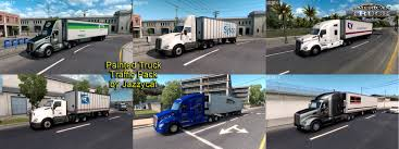 Painted Truck And Trailers Traffic Pack V1.3 By Jazzycat » ATS Mods ... Sioux City Truck Trailer North American And Trailer Stock Image Image Of American Camping 3707471 Simulator Peterbilt 567 Rental Freightliner Doepker Dealer Saskatoon Frontline Painted Trailers Traffic Pack V14 By Jazzycat Ats Mods Michelin Tires For Trucks In Big Rig Truck Drive West Into The Sunset On 1934 Studebaker Semi Vintage Pinterest Without A Vector Images Of Any Size In V11 Eagles Modding Forums New