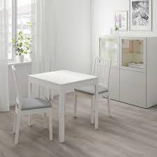 ekedalen ekedalen tisch und 2 stühle weiß orrsta