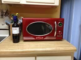 Nostalgia Retro Series 09 CF Microwave Oven In Red