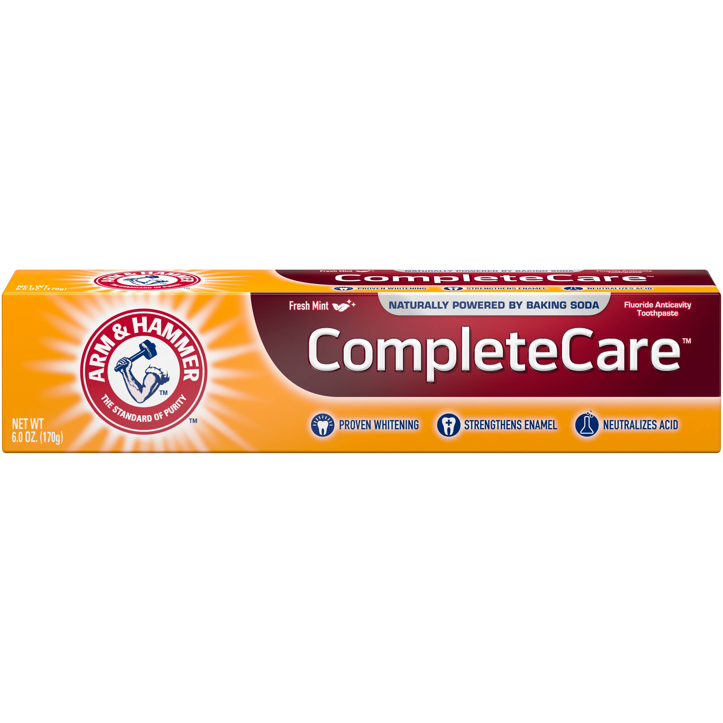 Arm and Hammer Toothpaste - Extra Whitening, Fresh Mint, 180ml