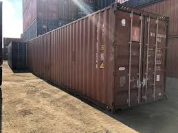 100 Shipping Containers 40 Ft Storage Container Chicago IL