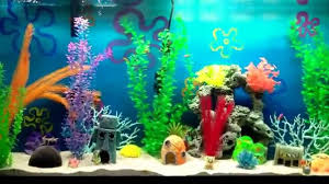 Spongebob Fish Tank Ornaments by The Best Spongebob Aquarium Youtube