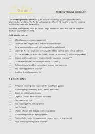 Beautiful Printable Wedding Checklist Timeline