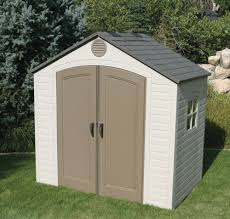 Lifetime Products Gable Storage Shed 7x7 by Amazon Com Lifetime 6406 8 Ft X 5 Ft Outdoor Storage Shed
