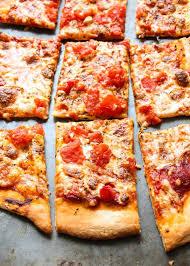 Dominos Thin Crust Pizza