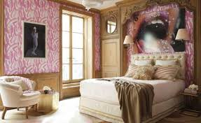 Modern Bedroom Design With Pink Accent Walls