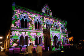 2010 Adelaide Northern Lights Festival Editorial Image of