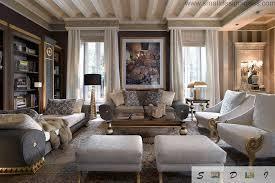 Alternative Color Gamma For Classic Living Room Design