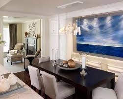 Various Pictures Of Dining Room Table Centerpieces Ideas Contemporary With Custom Banquette