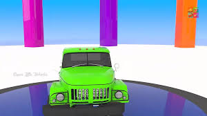 100 Garbage Truck Videos For Children For Learn Colors With