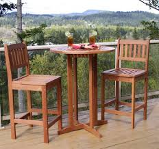 Unique Outdoor Cafe Table And Chairs Of Amazon Com Finnhomy Slatted With Inspiring Bistro