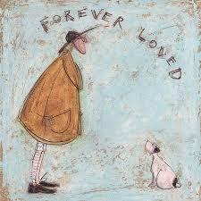 leinwand poster sam toft forever loved