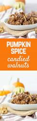 Storing Pumpkin Pieces by Pumpkin Spice Candied Walnuts Recipe Rachel Cooks