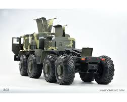 100 Military Truck Cross RC BC8 Mammoth 112 8 X 8 Scale Off Road Kit