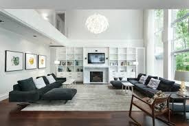 wohnzimmer gestalten grau weiβ tolle designlösungen in