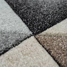 kurzflor teppich rauten design bunt
