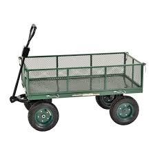 Sandusky 5 cu ft 24 in W Utility Cart CW4824 The Home Depot