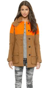 hunter boots women u0027s original hunting coat shopbop save up to 25