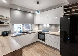 moderne hochwertige küche in u form grifflose küche in