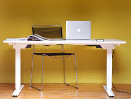 bureau assis debout bureau assis debout blanc classique