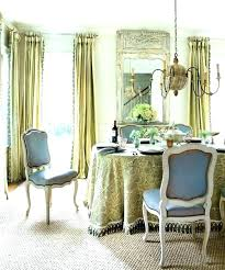 Modern Dining Room Curtain Ideas Living Drapery Styles