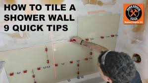 how to tile a shower wall 9 tips for a better bathroom