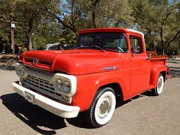 1960 Ford F-100 For Sale On BaT Auctions - Closed On October 24 ... Ford Courier Wikipedia Dig This 60sstyle 1953 F100 Autoweek The New Heavyduty 1961 Trucks Click Americana Frankenford 1960 With A Caterpillar Diesel Engine Swap Classic 1960s V8 Twin Beam 100 Pickup Truck In West Bottoms F600 Custom Cab Dump Bed Grain Item B8192 Truck Google Search Blue Oval 571960 Gems My Page Vintage Review Popular Science Tests The 1965 Chevrolet Dodge And American Pickup Editorial Stock Image Pinterest Trucks List Of Carbased Pick Ups Utes