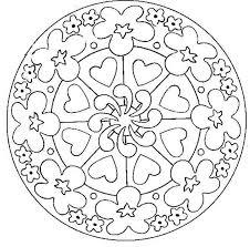 dessin a imprimer coloriage mandala à imprimer