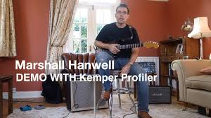 Best Frfr Cabinet For Kemper by Marshall Hanwell Demo With Kemper Profiler Youtube