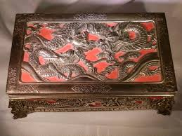 Japanese Silver Box With Dragons On It | Jewelry Box. Vintage ... Cabinet Jewelry Cldcepartnershipsorg 25 Unique Diy Jewelry Armoire Plans Ideas On Pinterest Folding Pier 1 Imports Japanese Inspired Lacquered Armoire Ebth Awesome Box Plans For Mens And Girls Boxes Amazoncom Antique Hand Painted Musicballerina My Armoires 53 Best Trinket Boxes Images Trinket Chinese Wooden Ufafokuscom Wood Womans Ladies Chest With Mirrored Lid Chest