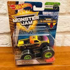 100 Black Stallion Monster Truck Hot Wheels Jam 164 Diecast Toys Games