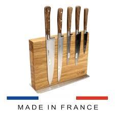 Kitchen Knive Set Laguiole Kitchen Knives Set Of 5 With Magnetic Oak Block