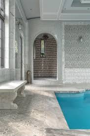 Mexican Shell Stone Tile by Artistic Tile I Floor Tile Granada Smoke Glass And Stone Water