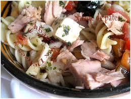 recette de pate au thon salade de pates au thon recettes faciles recettes rapides de djouza