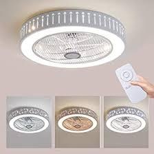 deckenventilator mit beleuchtung kreative led deckenventilator le mit fernbedienung dimmbar leiser lüfter kronleuchter moderne wohnzimmer