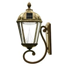 solar powered outdoor wall mounted lights royal l series mount