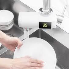 xiaoda instant heizung wasserhahn küche elektrische wasser heizung temperatur kalt warm einstellbare wasserhahn für küche home use