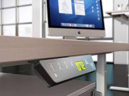 bureau assis debout electrique bureaux réglables en hauteur up i bureau