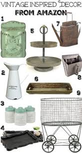 Vintage Inspired Decor From Amazon Affordable For The Modern Farmhouse