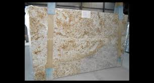 gold 3cm polished granite slab