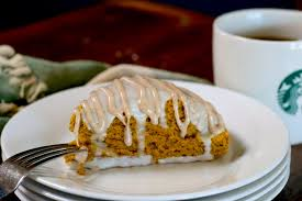 Starbucks Pumpkin Scone Recipe Calories by Starbuck U0027s Pumpkin Scones Recipe U2014 Dishmaps