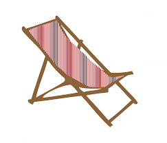 Deck Chair Clipart Free Stock