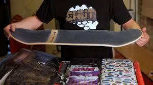 5 Skateboard Sizes & Shapes | Custom Skateboard - YouTube