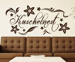 wandtattoo kuschelnest spruch wand aufkleber schlafzimmer wohnzimmer 1d159 wandtattoos und leinwandbilder günstig mydruck store