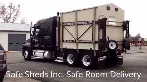 100 Truck Shelters Safe Shed Storm Shelter Installation YouTube