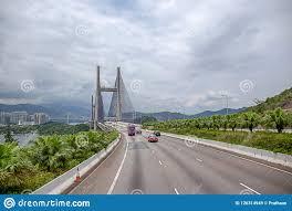 100 An Shui Wan Road View Of Kap Mun Bridge Connect To Tsing Ma Bridge In H